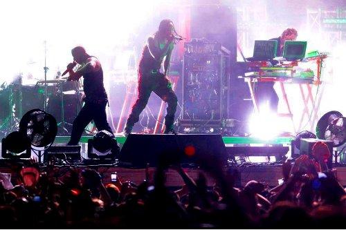 Prodigy en directo en el Creamfields 2011 en Jerez