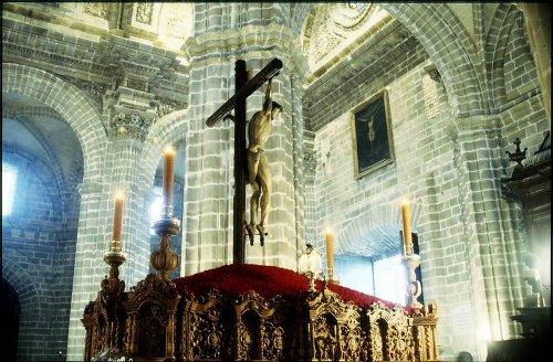 Cristo del Perdón en la Catedral, Jerez de la Frontera