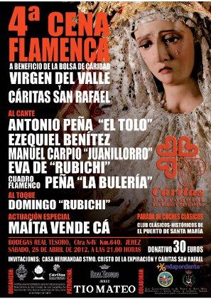 Cena Flamenca Virgen del Valle