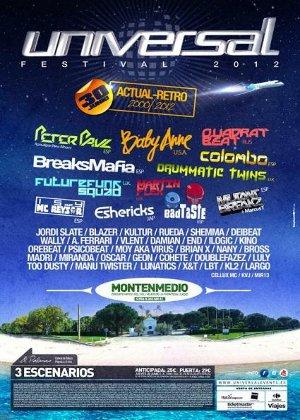Universal Festival 2012, en Vejer de la Frontera