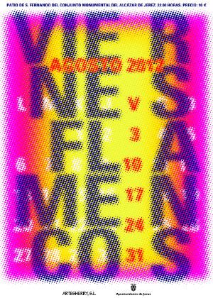 Cartel de los Viernes Flamencos 2012