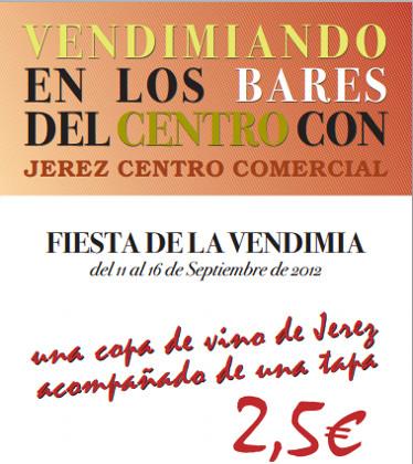 Vendimiando en los Bares del Centro de Jerez