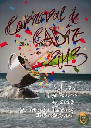 Cartel del Carnaval de Cádiz 2013