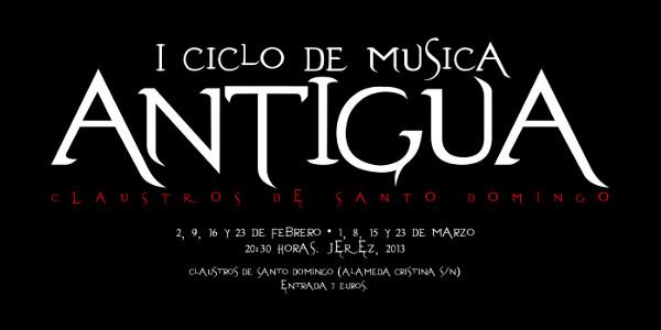 Ciclo de Música Antigua en los Claustros de Santo Domingo