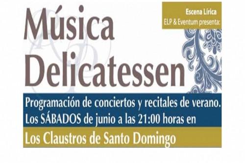 El ciclo Música Delicatessem se celebra durante el mes de junio