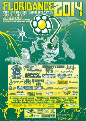 Cartel del Festival Floridance 2014