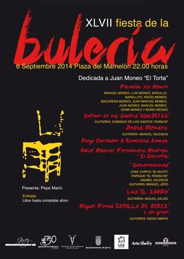 Cartel de la Fiesta de la Bulería de 2014