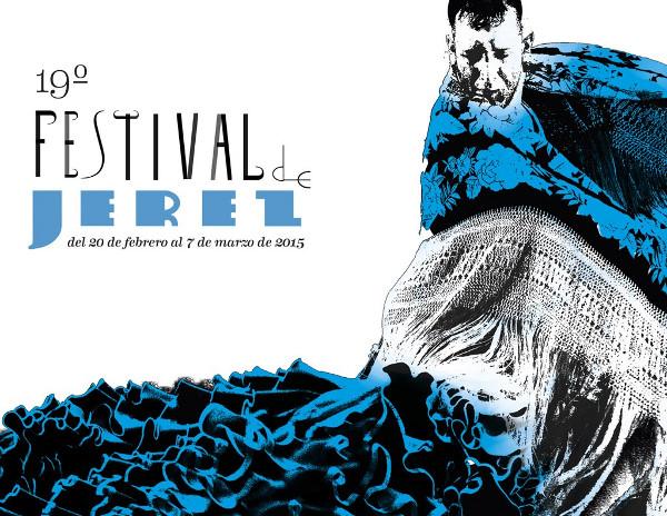 Cartel del Festival de Jerez del año 2015