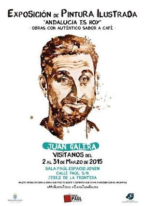 Cartel de la Exposición Andalucía es Hoy, en la Sala Paúl