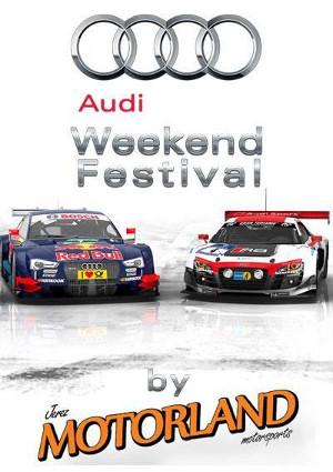 Cartel del primer Audi Weekend Festival
