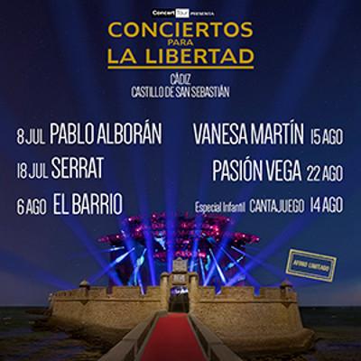 Agenda de Conciertos para la Libertad 2015 en Cádiz