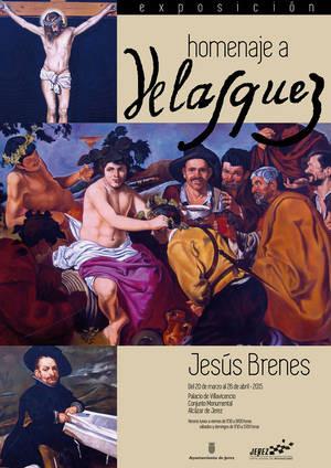 """Cartel de la exposición """"Homenaje a Velázquez"""""""