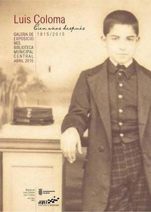 Exposición sobre el jerezano Luis Coloma en la Biblioteca de Jerez