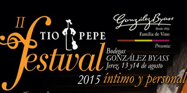El 13 y el 14 de agosto se celebra el II Tío Pepe Festival en González Byass
