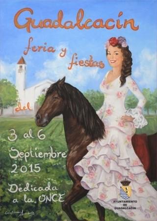 Cartel de la edición de 2015 de la Feria de Guadalcacín