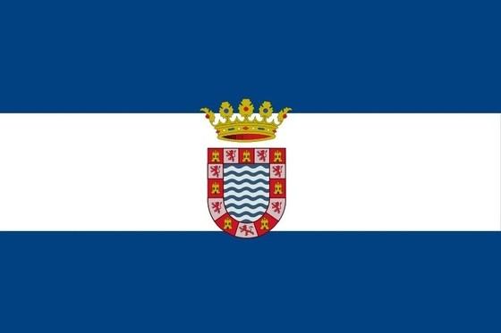 Bandera y escudo de Jerez