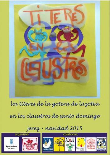 Ciclo de Títeres en los Claustros de Santo Domingo