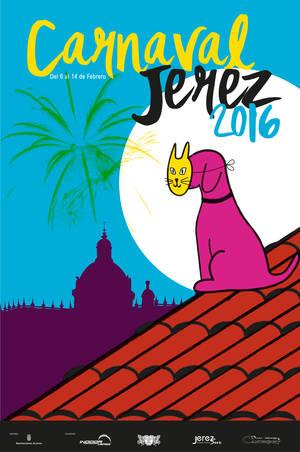 Cartel del Carnaval de Jerez 2016