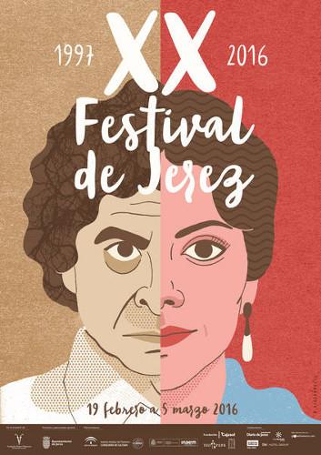 Cartel del Festival de Jerez 2016