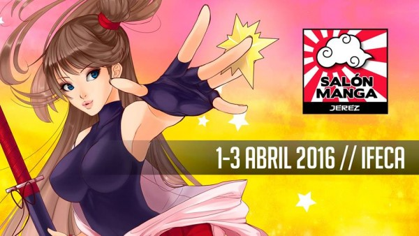 La edición de 2016 del Salón Manga de Jerez será del 1 al 3 de abril