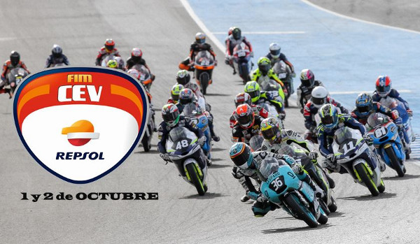 El FIM CEV Repsol 2016 llega al Circuito de Jerez