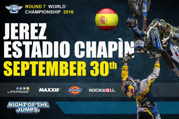 El 30 de septiembre vuelve el motocross y los saltos a Jerez