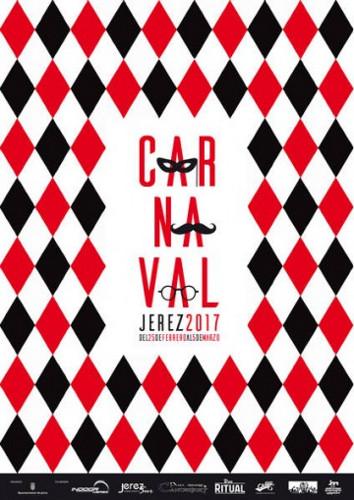 Cartel del Carnaval de Jerez 2017, que empieza el 25 de febrero