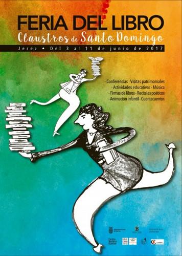 La Feria del Libro 2017 en Jerez comineza el 3 de junio
