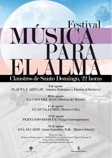 Música para el Alma, festival de conciertos en los Claustros de Santo Domingo
