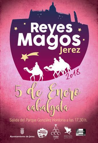 Cabalgata de Reyes Magos 2018 en Jerez