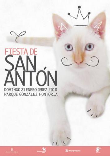 La Fiesta de San Antón 2018 se celebrará en Jerez este 21 de enero