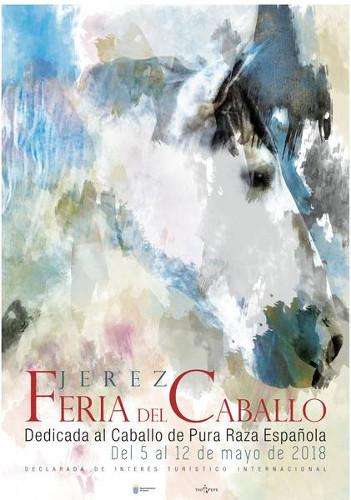 Cartel oficial de la Feria del Caballo 2018