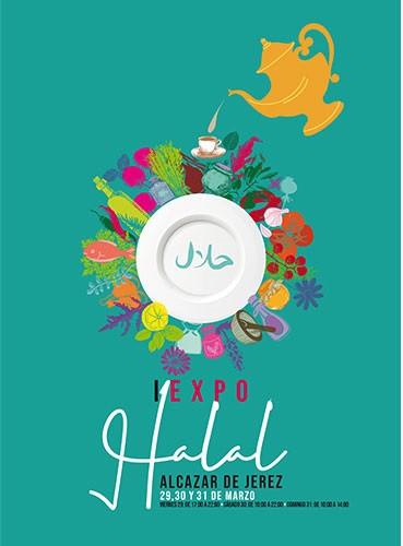 Cartel de la primera edición de Expo Halal