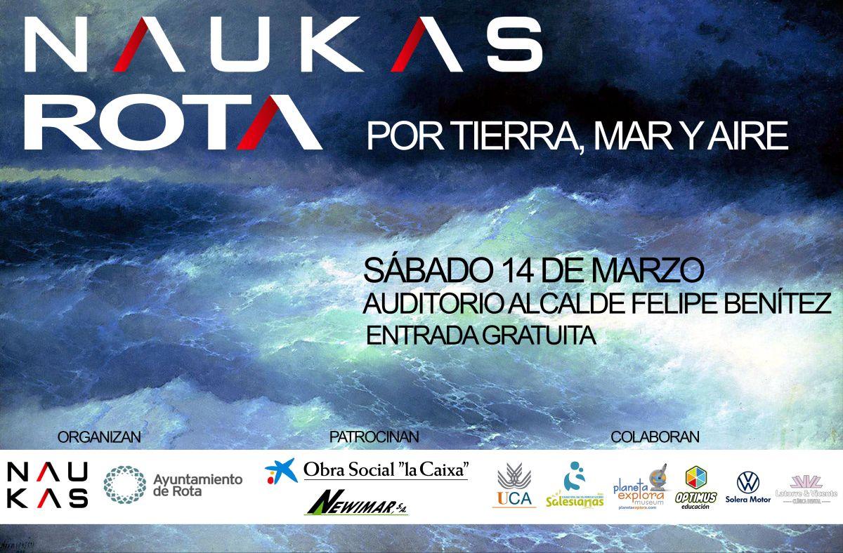 Naukas Rota, evento de divulgación científica el sábado 14 de marzo