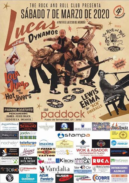 Rock n Roll Club celebra en Jerez la fiesta de su cuarto aniversario