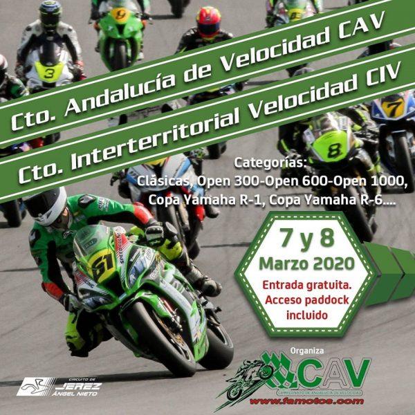 Comienza la temporada de competición 2020 en el Circuito de Jerez