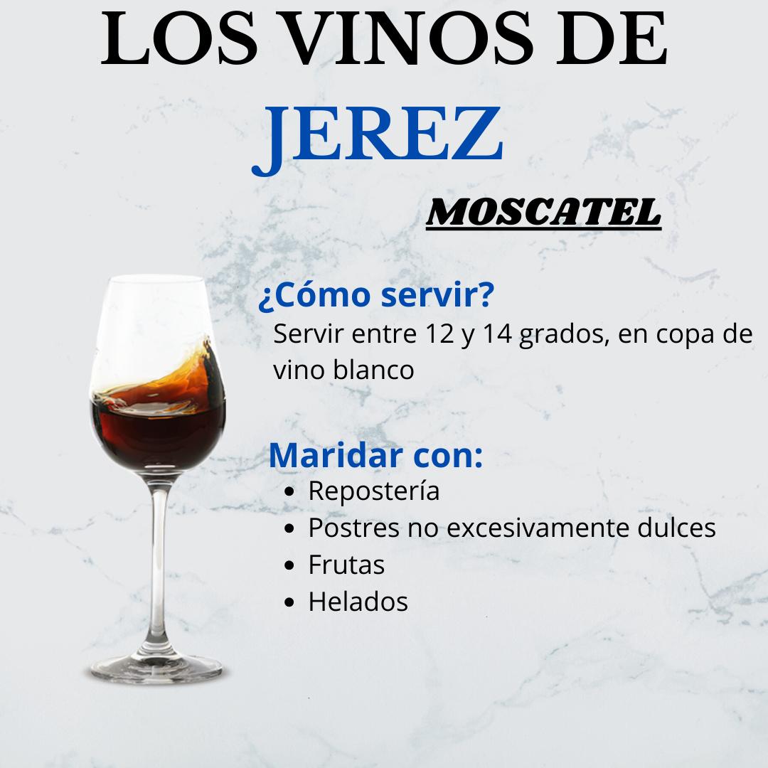Los Vinos de Jerez: el Moscatel