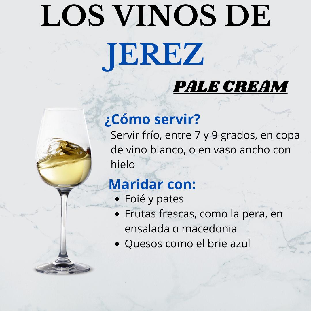 Los Vinos de Jerez: el Pale Cream