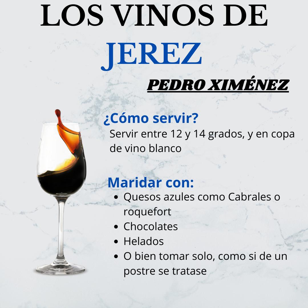 Los Vinos de Jerez: el Pedro Ximénez