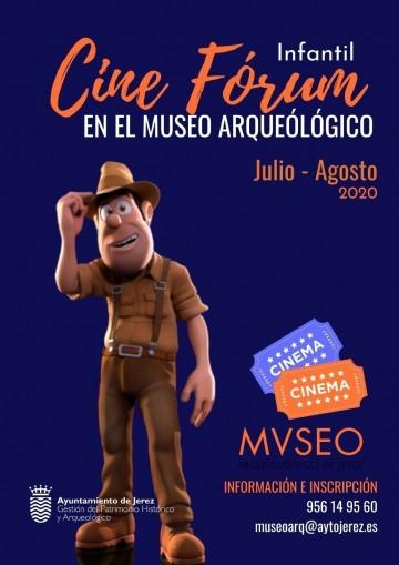 Cine Forum en el Museo Arqueológico para los meses de julio y agosto