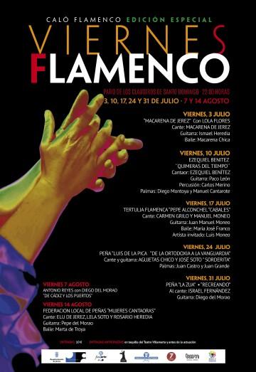 Cartel definitivo de la edición especial de los Viernes Flamenco 2020