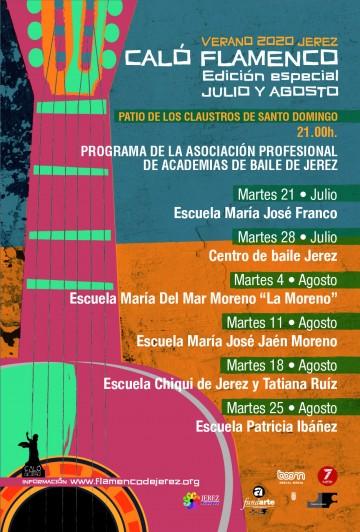 Programa de actuaciones de las Academias de Baile de Jerez