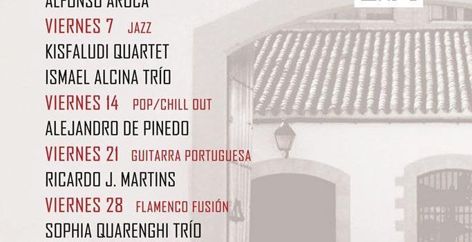 Programa del ciclo de conciertos en el Patio de la Sala Paúl