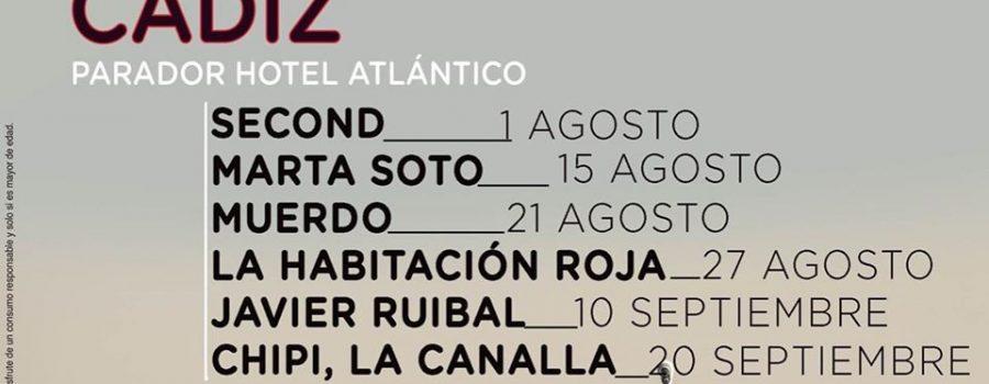 Live the Roof 2020, programa de conciertos en la azotea del Parador Atlántico
