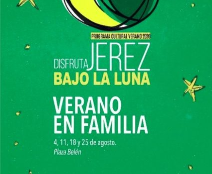 Cartel del ciclo Verano en Familia en la Plaza Belén