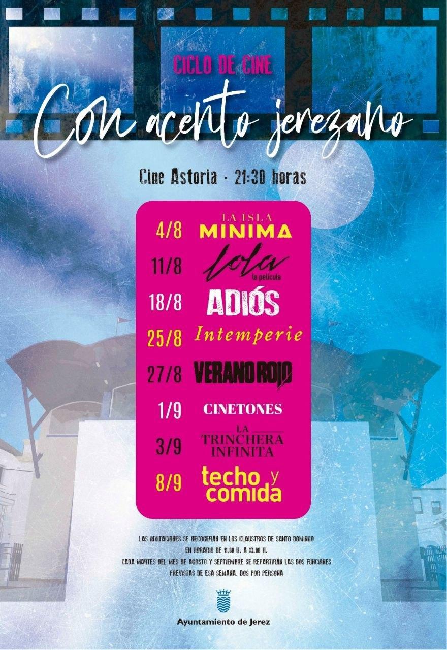 Ciclo de cine de verano en el rehabilitado Cine Astoria de Jerez