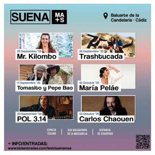 Suena Más, ciclo de conciertos en Cádiz