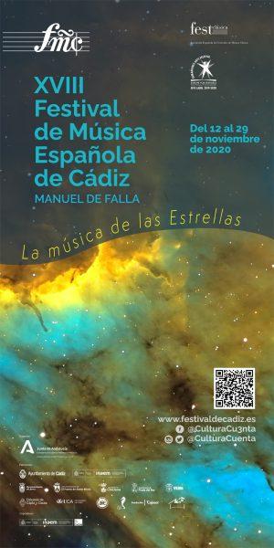 Programación de la edición de 2020 del Festival de Música Española Manuel de Falla